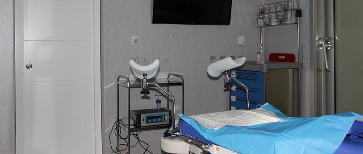 Sala operatoria centre Fertility Madrid