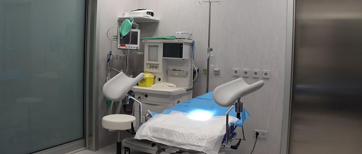 Sala operatoria Fertility Madrid