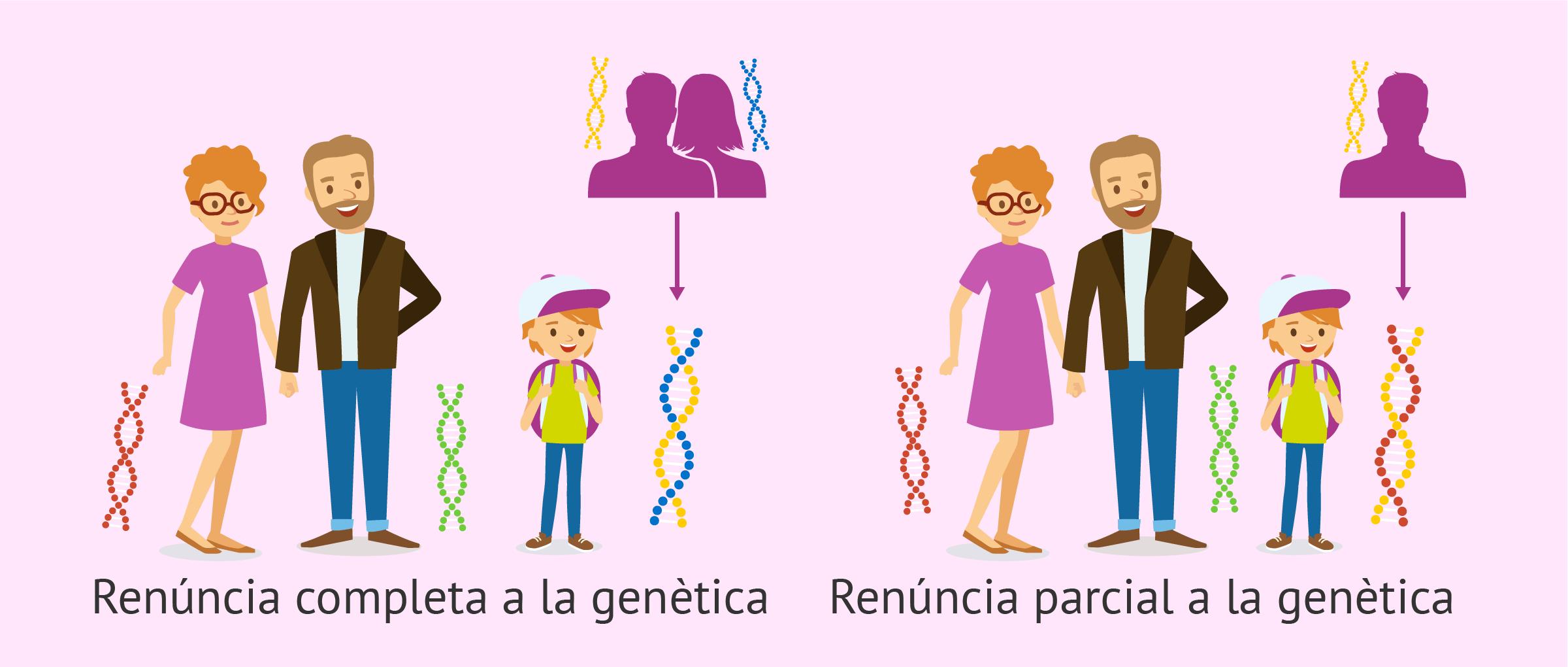 Renúncia a l'herència genètica